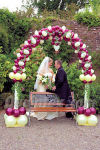 Click for Larger View of this Balloon Display Wedding Arch 1