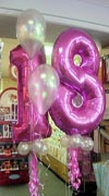 18th Foil Balloons Click for larrger View
